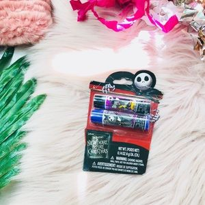 Other - NWT LE Nightmare Before Christmas Lip Balm Set